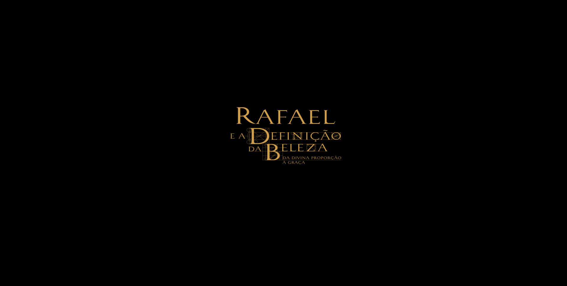 Rafael e a definicao da beleza logo
