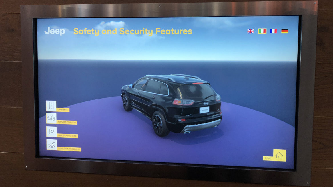 JEEP – SAFETY AND SECURITY FEATURES